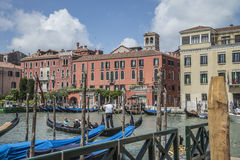 In Venice (the Grand Canal) Stock Images