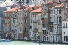 Venice, Grand Canal. Seen from the Accademia Bridge royalty free stock images