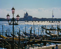 Venice, The Grand Canal Stock Images