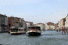Venice Grand Canal stock image
