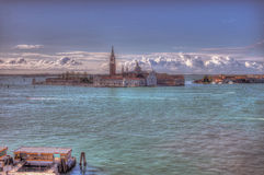 Venice grand canal. View for  grand Venice canal Stock Image