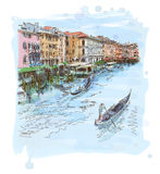 Venice - Grand Canal Royalty Free Stock Photos