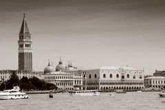 Venice Grand Channel, Dodje Palace Royalty Free Stock Photos