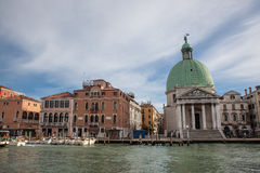 Venice grand channel Royalty Free Stock Photos