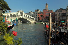Venice - Grande canal Royalty Free Stock Images