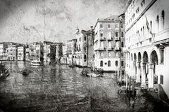Venice grungy Royalty Free Stock Photos