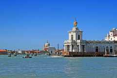 Venice harbour Royalty Free Stock Images