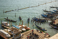 Venice harbour. Stock Photography