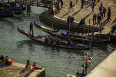 Venice harbour. Royalty Free Stock Photography