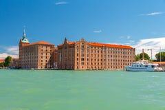 Venice. Hilton Molino Stucky. Royalty Free Stock Photo