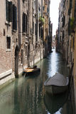 Venice historic canal Royalty Free Stock Photo