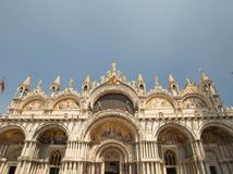 Venice / historical architecture in the main square of the city Dodge,s palace stock photo