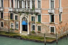 Venice, the house on the corner Stock Photography