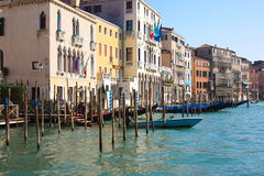 Venice house fronts Royalty Free Stock Photos