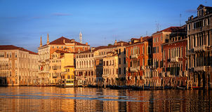 Venice houses Stock Image