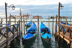 Venice. Impression from venice in the very early morning Stock Image