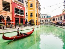 Venice inspired Mall royalty free stock photography