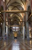 Venice - interior of church Santa Maria dei Frari Stock Photo
