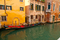 Venice Irtaly pittoresque view. Unusual pittoresque view of Venice Italy most touristic place in the world Stock Image