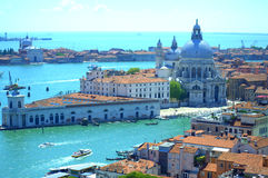 Venice islands aerial view Italy Royalty Free Stock Photos