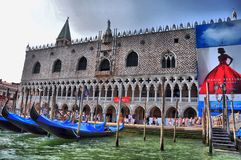 Venice. Italian old city venice in the water Stock Photography