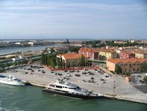 Venice, italy. View of sea port in Venice, italy Stock Photography