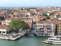 Venice, italy. View of buildings in Venice, italy Stock Photos