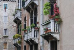 Details of the picturesque and romantic city of Venice Venezia, Italy Stock Photo