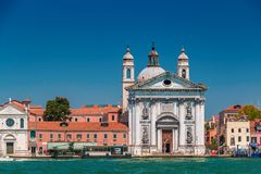 Santa Maria del Rosario Church in Venice Royalty Free Stock Image