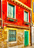 In Venice in Italy Stock Image