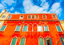 In Venice in Italy Stock Photography
