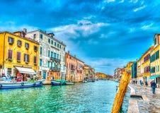 In Venice in Italy Stock Photos