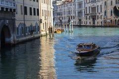 Venice Italy boat stock photo