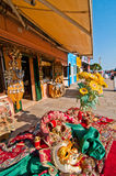 Venice Italy burano souvenir shop Stock Photography