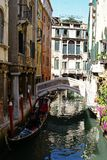 Venice italy canal Royalty Free Stock Photos