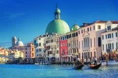Venice, Italy. Canal Grande in Venice, Italy stock photography
