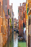 Venice.Italy. The canals of Venice as the city streets Stock Image
