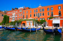 Venice - Italy - The Canals Royalty Free Stock Photo