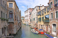 Venice, Italy. Canals Stock Images
