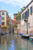 Venice, Italy. Canals. View of canals in Venice. Summer shot Stock Photography