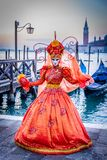 Venice, Italy - Carnival in Piazza San Marco royalty free stock photo