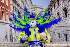Venice, Italy - Carnival in Piazza San Marco stock photography