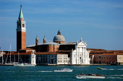 Venice, Italy: Church of San Giorgia Maggiore Royalty Free Stock Image