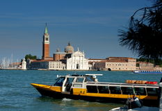 Venice, Italy: Church of San Giorgia Maggiore Royalty Free Stock Photography