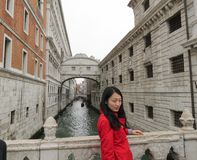 Bridge of Sighs in Venice Royalty Free Stock Photos