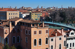 Venice, Italy. City view from the top. Stock Photos