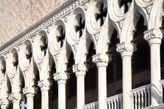Venice, Italy - Columns perspective Stock Photography