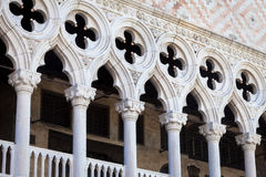 Venice, Italy - Columns perspective Stock Image
