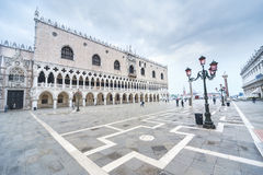 Venice, Italy. Doge's Palace on San Marco square, Venice, Italy Stock Photos