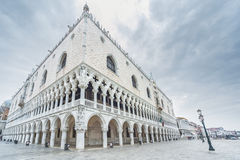 Venice, Italy. Doge's Palace on San Marco square, Venice, Italy Stock Image